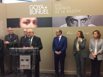 Inauguración de la exposición Goya y Buñuel los sueños de la razón (Foto de Carlos Palos Bondía)