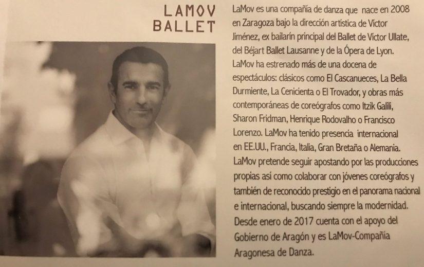 """LaMov Ballet (información del programa de mano de """"Buñuel del Deseo"""")"""
