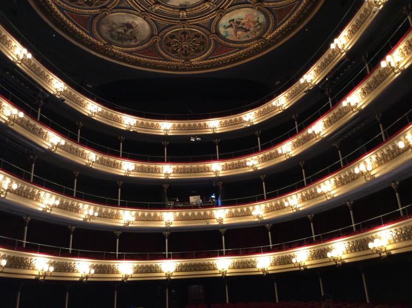 Teatro Principal de Zaragoza (17/12/2017) foto de Carlos Palos Bondía