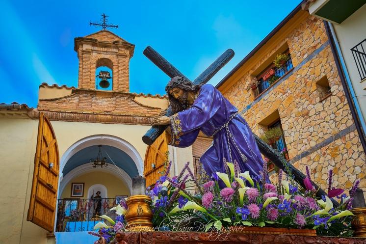 Jesús Nazareno - Semana Santa Calanda 2017 (Foto de Manuel Cobano Nuñez)