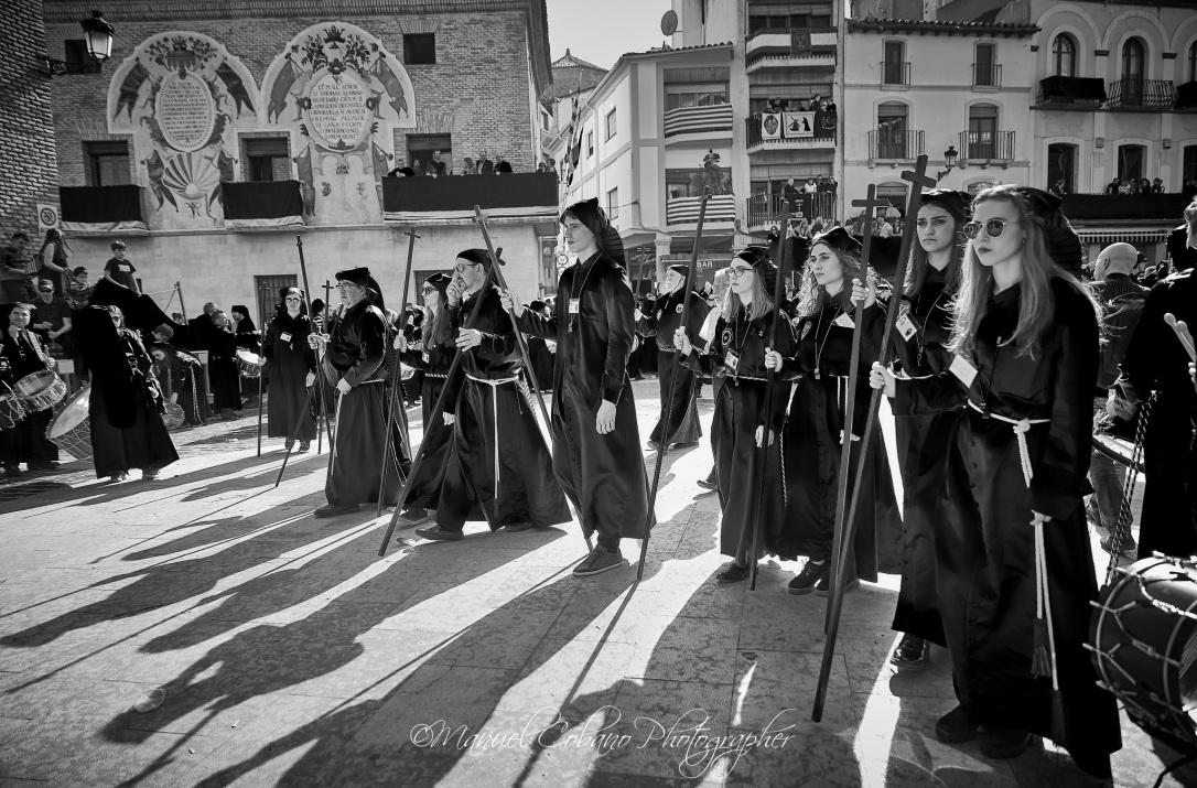 """Semana Santa Calanda 2017 - Procesión de """"El Pregón"""" (Foto de Manuel Cobano Nuñez)"""