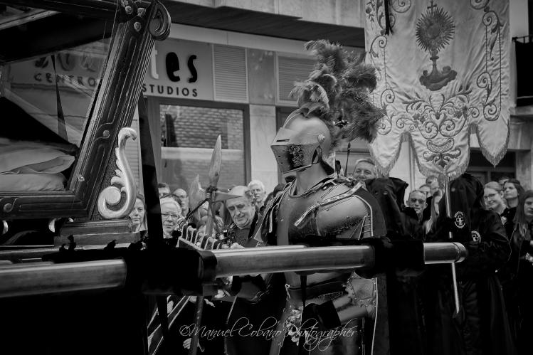 Semana Santa Calanda 2017 - Procesión del Santo Entierro (Foto de Manuel Cobano Nuñez)