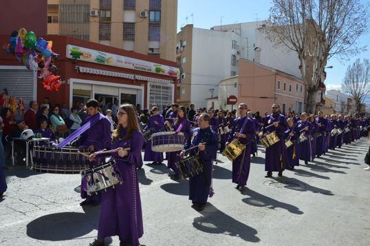 Desfile pueblos Calanda (foto de Radio Mula 104.5 fm)