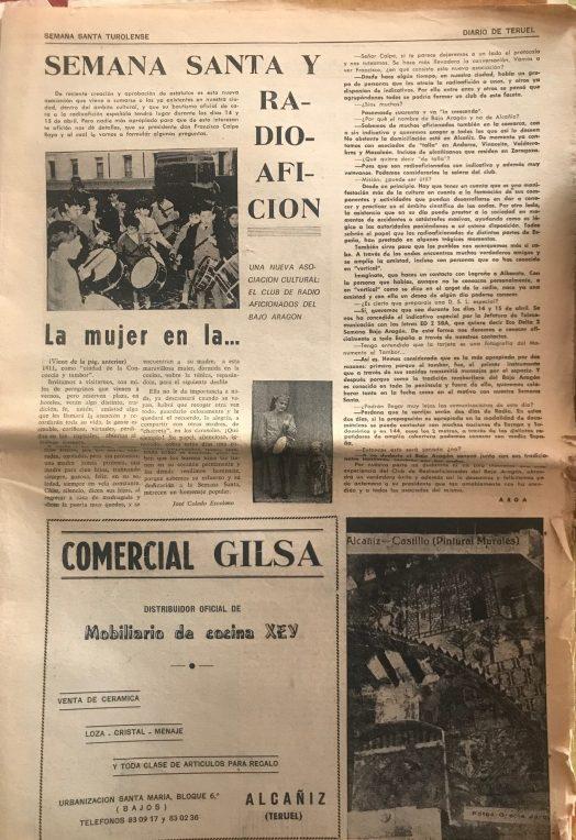 Diario de Teruel Especial Semana Santa 1984 -2
