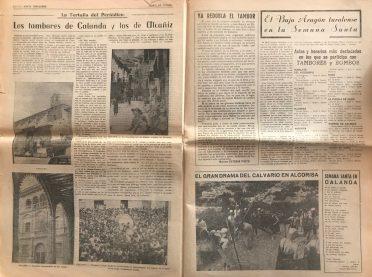 Diario de Teruel Especial Semana Santa 1984 -5