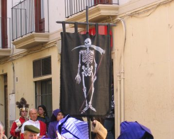 "Semana Santa de Calanda -""La muerte seca"" - ""El Pregón"""