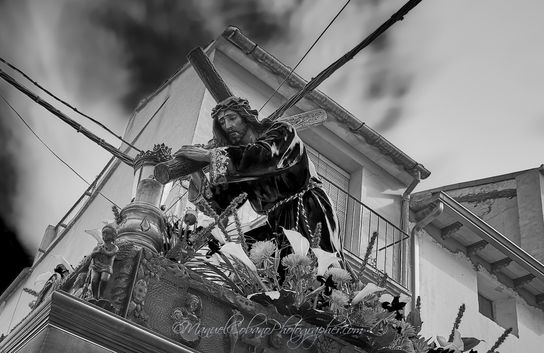 Jesus Nazareno Semana Santa Calanda - Foto de Manuel Cobano