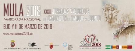Jornada Nacionales Mula 2018 - Cartel Oficial