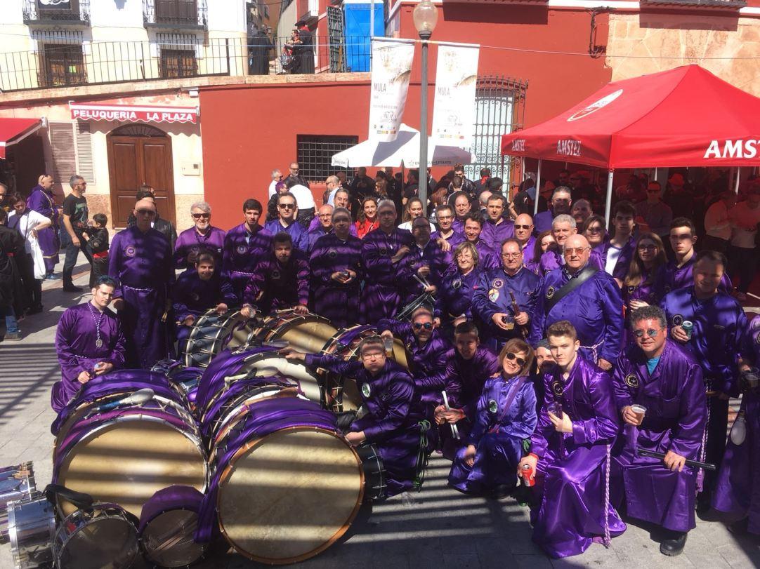 Representación de Calanda en Jornadas Mula 2018