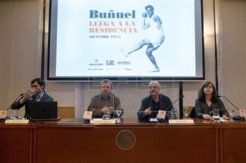 Jordi Xifra en la Residencia de Estudiantes de Madrid (Foto Agencia EFE)