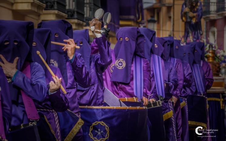 Cofradía Jesús Nazareno - Semana Santa de Calanda 2017 - Foto Jordi Santacana