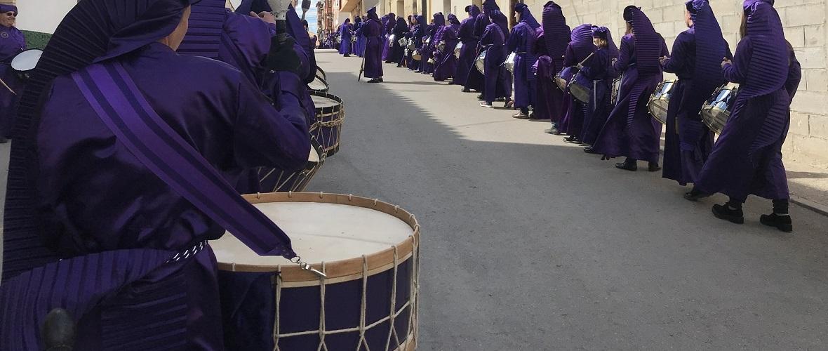 calandanazareno - Procesión de El Pregon 2018 - Semana Santa de Calanda