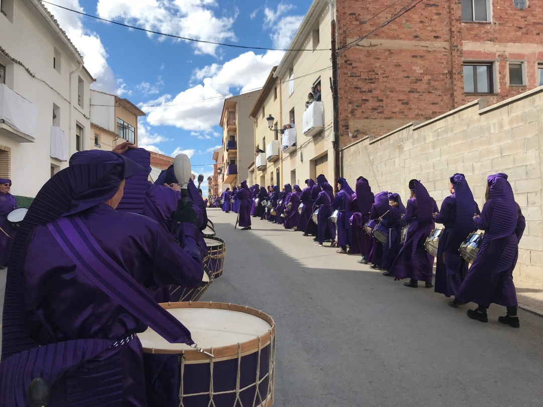 """Procesión de """"El Pregón"""" - Semana Santa de Calanda 2018"""
