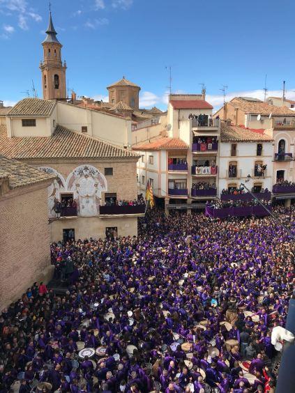 Romper la Hora Plaza España - Semana Santa Calanda 2018