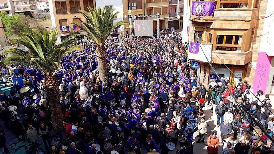 Romper la Hora Plaza San Miguel - Semana Santa Calanda 2018