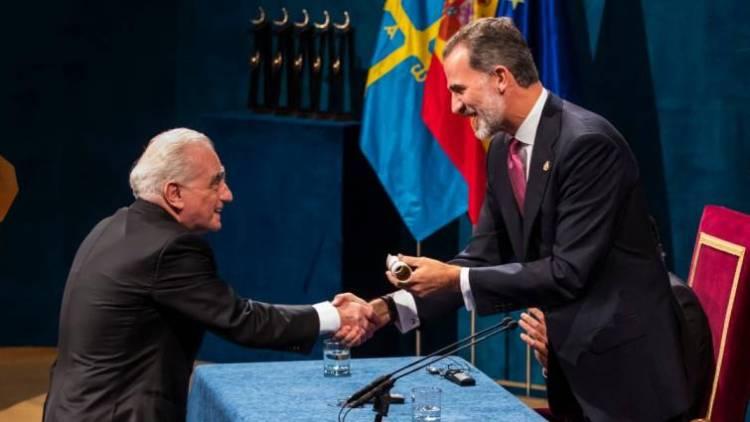 Scorsese Premio Principe de Asturias