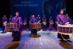 Representación de los Tambores y Bombos de Calanda en el CIBRA 2018 de Toledo