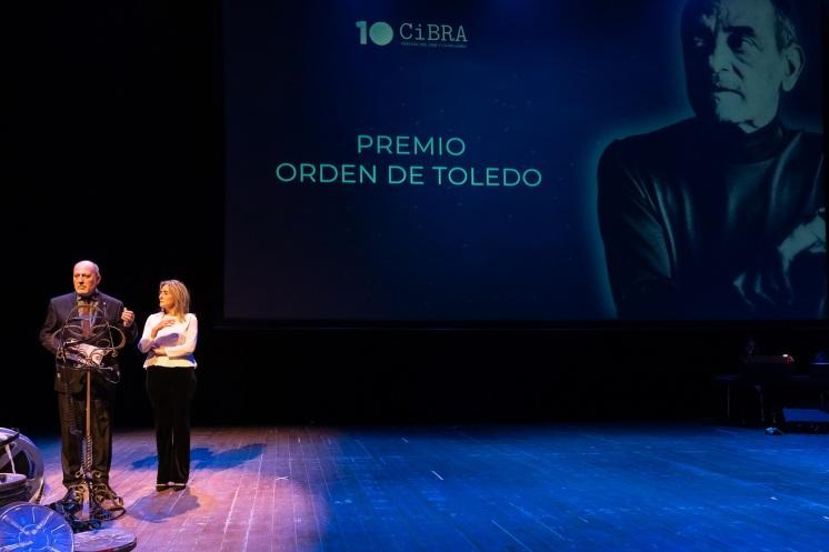 """Entrega del Premio """"Orden de Toledo"""" del CIBRA 2018"""