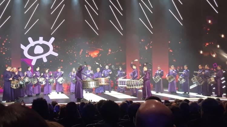 Tambores y Bombos de Calanda en la Gala de los XXIV Premios Forqué (Zaragoza, 12/01/2019)