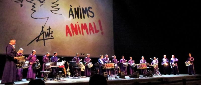 Calandanazareno - Tambores de Calanda - Animo Animal - Barcelona 02-02-2019