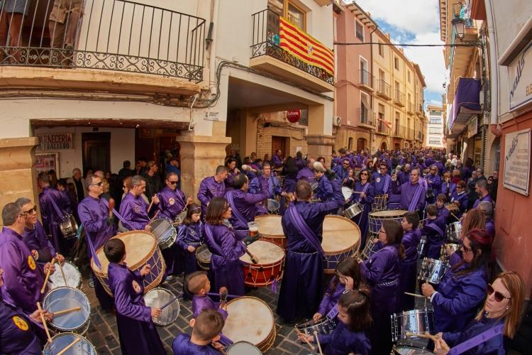 Semana Santa de Calanda - Finalización de Redobles 2018 - Foto de José Quintana Merino