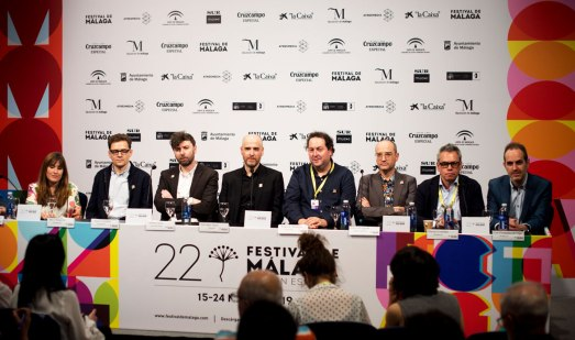 """Equipo de la película """"Buñuel en el laberinto de las tortugas"""" - Festival de Cine de Málaga 2019"""