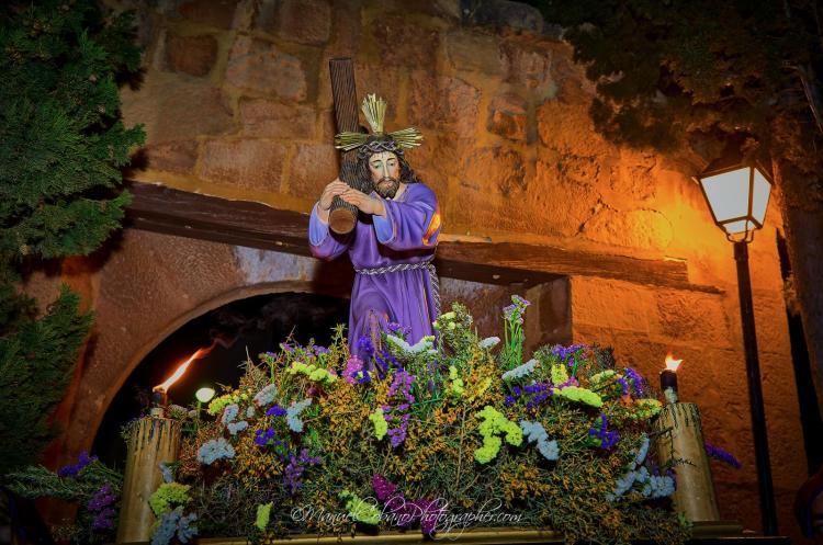 Vía Crucis Semana Santa de Calanda 2018 (Foto de Manuel Cobano)