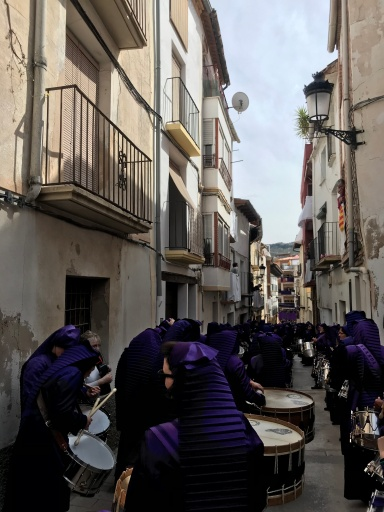 """Procesión de """"El Pregón"""" - Semana Santa de Calanda 2019"""