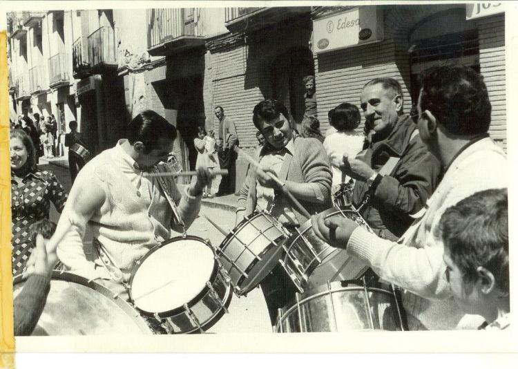 Luis Magrazó, Miguel Magrazó, Valentín Royo e Ismael Brumos