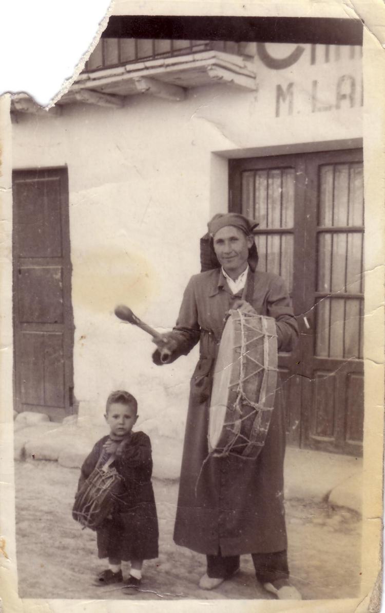 Miguel Magrazó Valles y con su padre Miguel Magrazó Loscos
