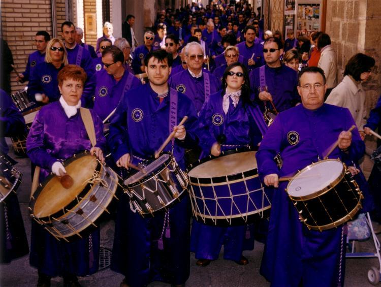 Miguel Magrazó y familia - Semana Santa 2001